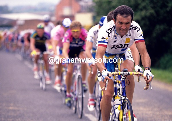 Gilbert Duclos-Lassalle in the 1991 Tour de France
