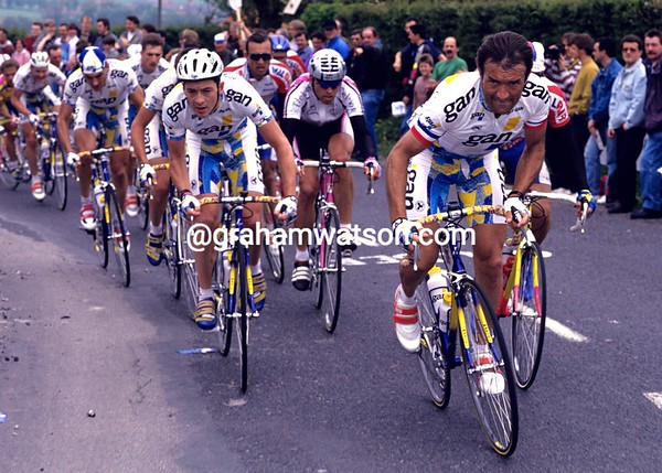 Gilbert Duclos-Lassalle in the 1994 Tour de France