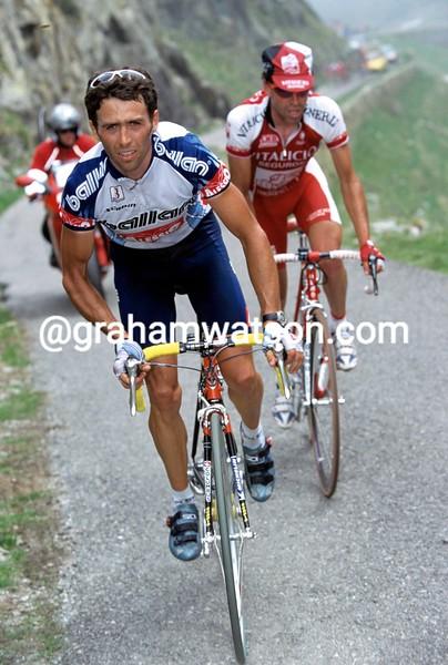 Gilberto Simon in the 2002 Giro d'Italia