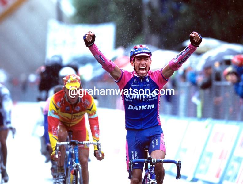Gilberto Simoni in the 2005 Giro d'Italia