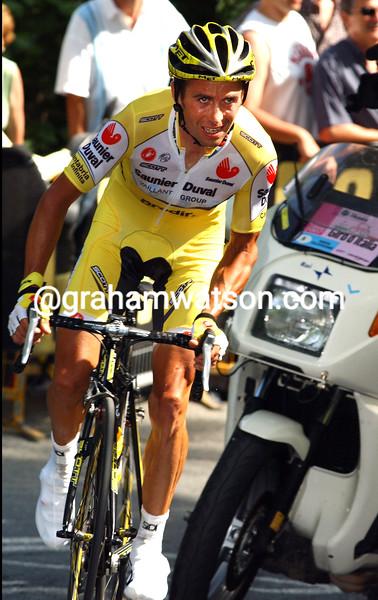 GILBERTO SIMONI ON STAGE THIRTEEN OF THE 2007 GIRO D'ITALIA