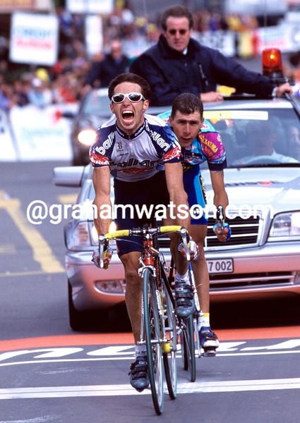 Gilberto Simon in the 1999 Tour of Switzerland