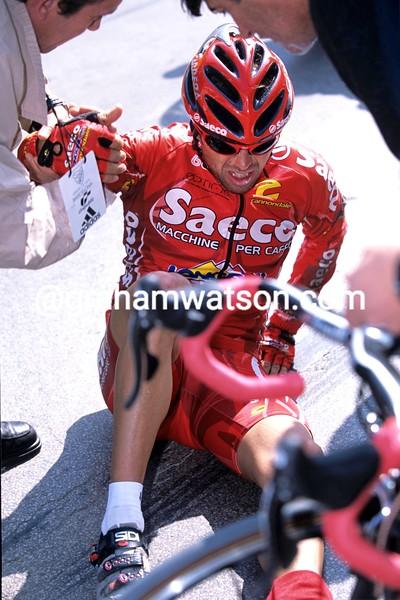 Gilberto Simon in the 2003 Vuelta a España