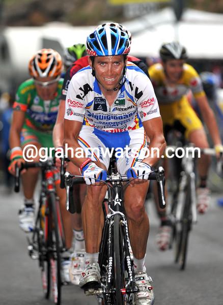 GILBERTO SIMONI LEADS ON STAGE FOURTEEN OF THE 2008 GIRO D'ITALIA