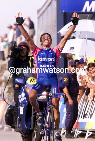 Gilberto Simon in the 2002 Vuelta a España