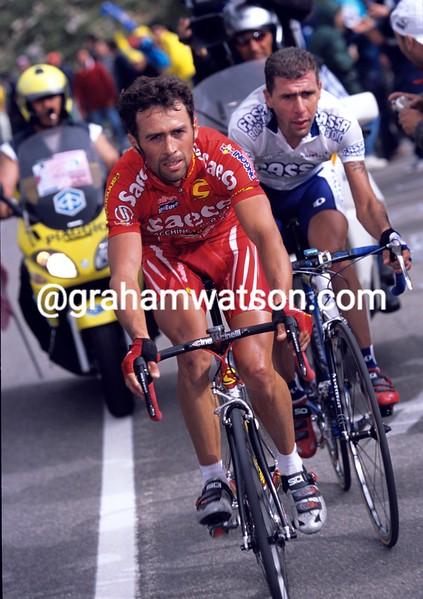 Gilberto Simoni in the 2003 Giro d'Italia