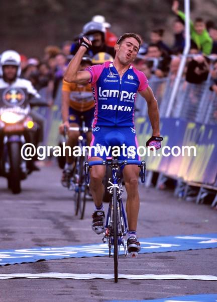 Gilberto Simon in the 2000 Vuelta a España