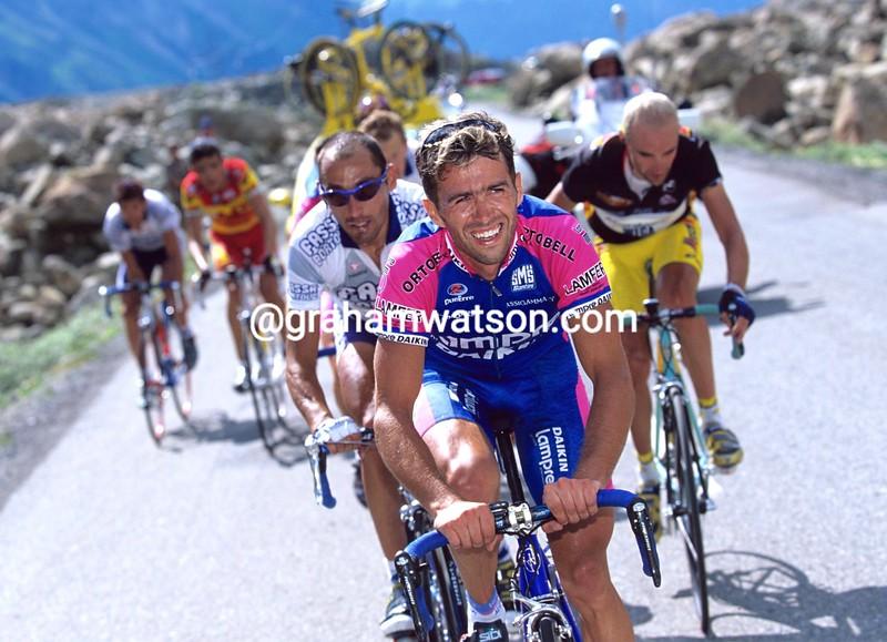 Gilberto Simoni in the 2000 Tour of Switzerland