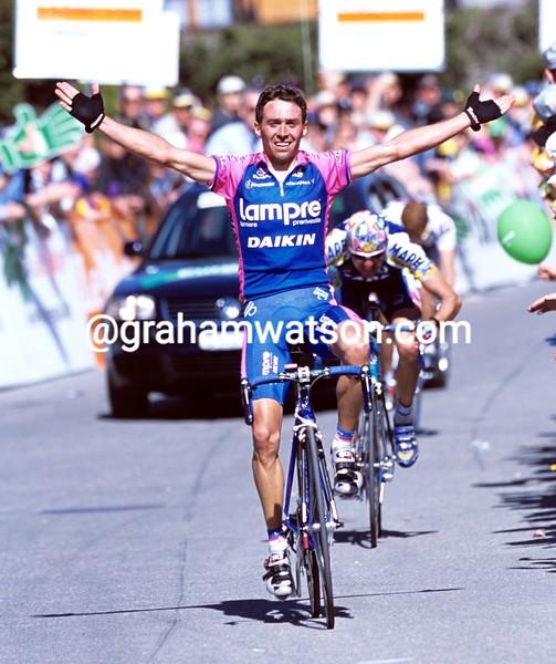 Gilberto Simon in the 2001 Tour of Switzerland