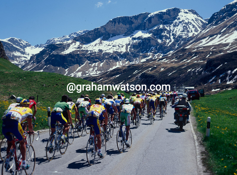 A stage of the 1995 Giro d'Italia