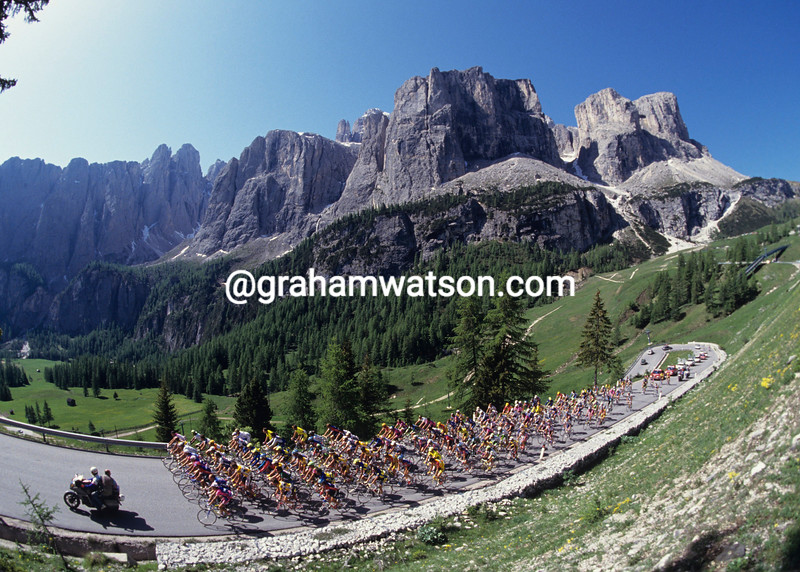 The Giro d'Italia in 1993