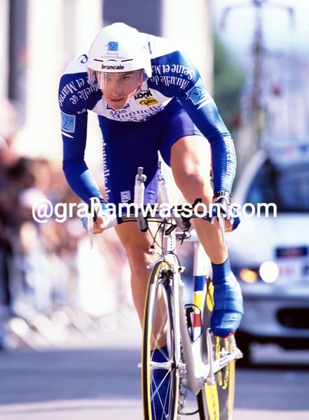 Gordon Fraser in the 1997 Tour de France