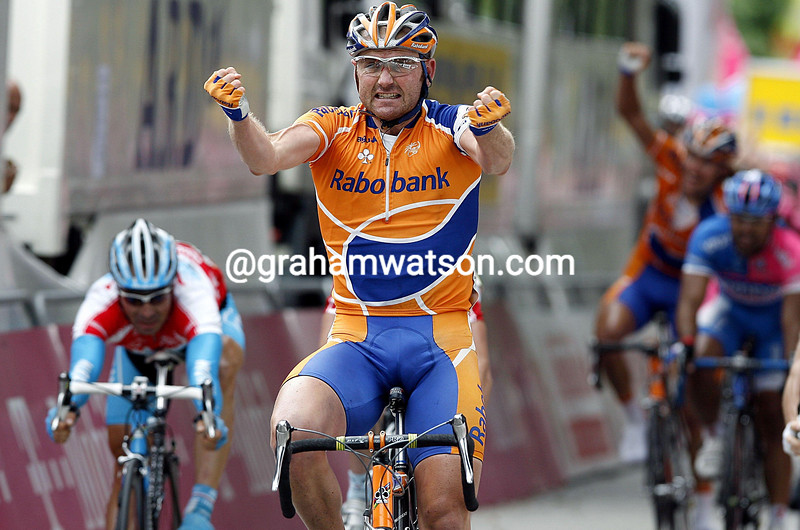 GRAEME BROWN WINS STAGE FOUR OF THE TOUR OF GERMANY