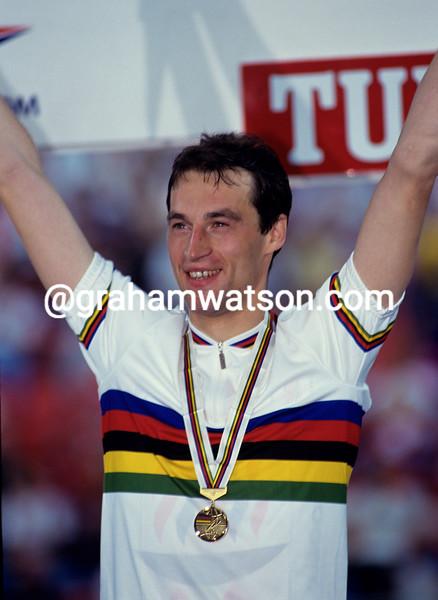 Graeme Obree at the 1993 World Championships