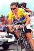 Lance Armstrong at Alpe d'Huez in the 2004 Tour de France
