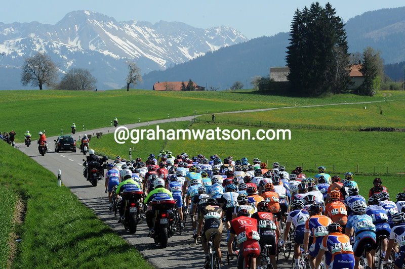 TOUR DE ROMANDIE - STAGE ONE