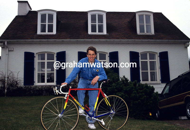 Greg Lemond at home in 1991