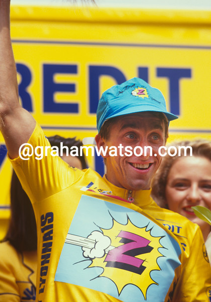Greg. LeMond in the 1990 Tour de France