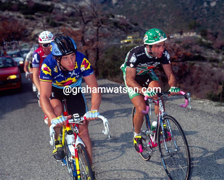 Greg LeMond in the 1991 Criterium International
