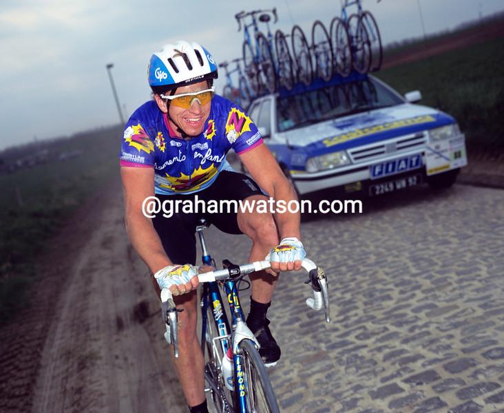 Greg Lemond in the1992 Tour of Flanders