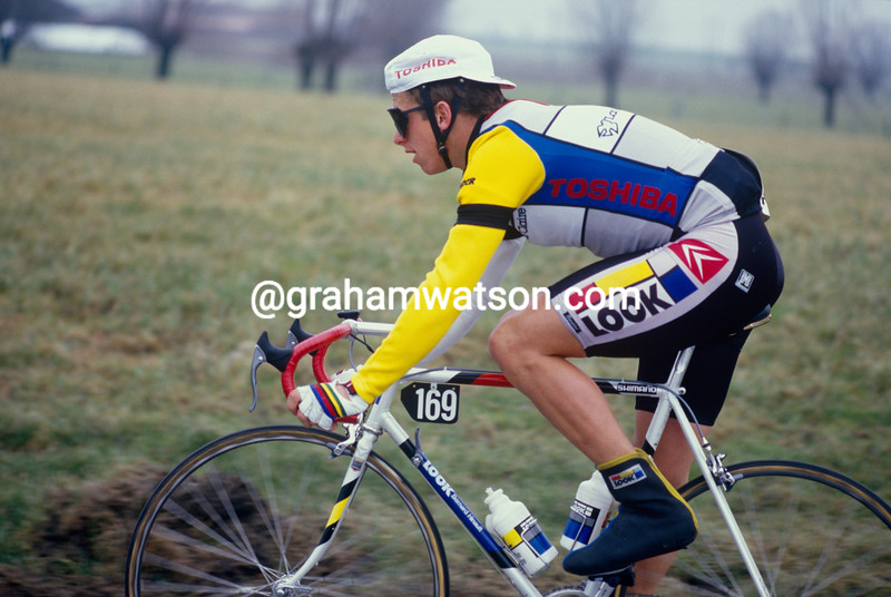 Greg LeMond in the 1985 Ghent-Wevelgem