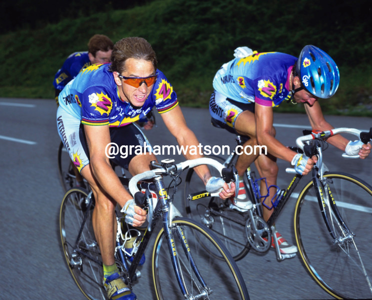 Greg Lemond in the 1992 Tour de France