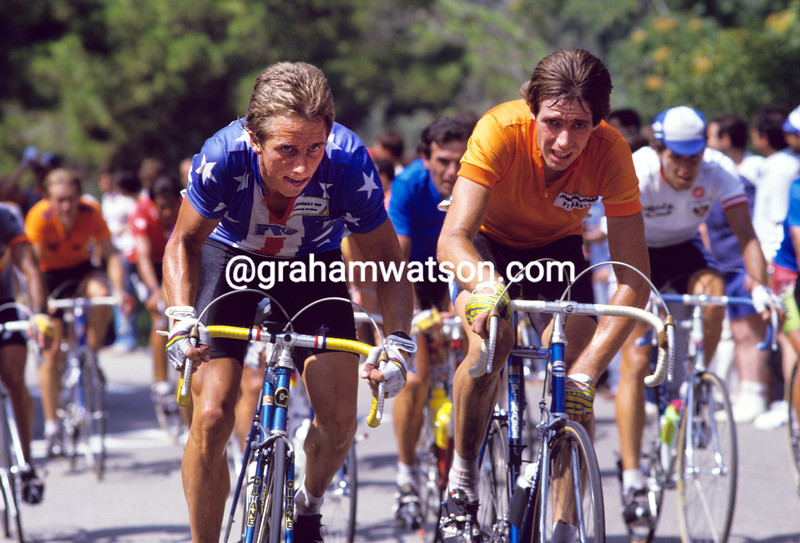 Greg Lemond in the 1984 World Championships