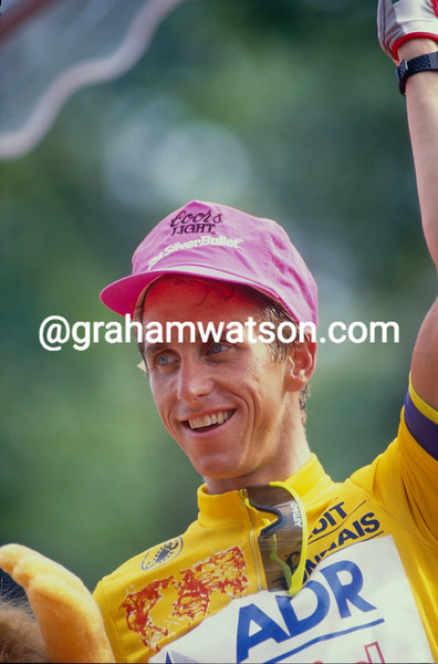 Greg. LeMond in the 1989 Tour de France