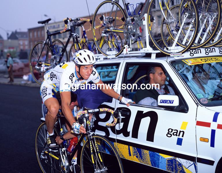 Greg Lemond in the 1994 Tour de France