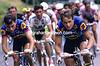 Greg Lemond and Francois Lemarchand in the 1992 Tour de France