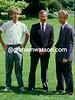 Greg Lemond with Andy Hampsten after the 1986 Tour de France