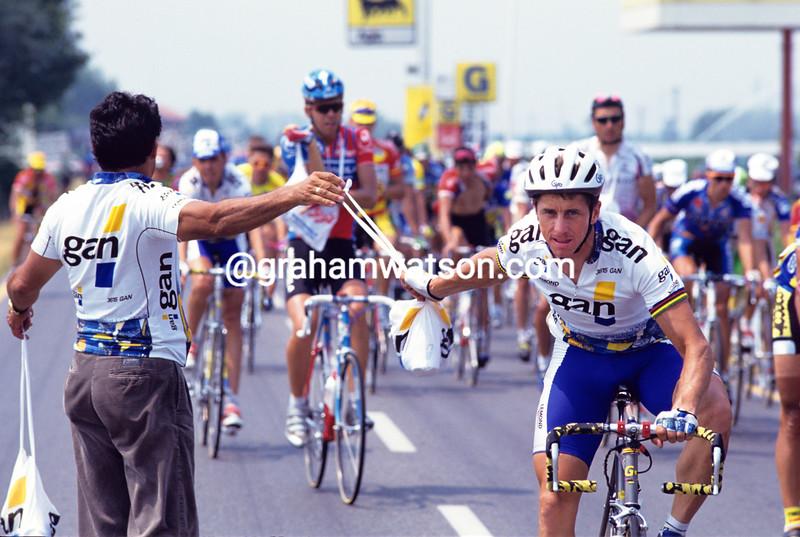 Greg Lemond in the 1993 Tour de France
