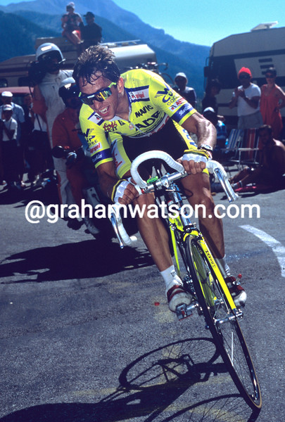 Greg Lemond in the 1989 Tour de France