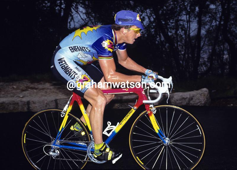 Greg Lemond in the 1992 Paris-Nice