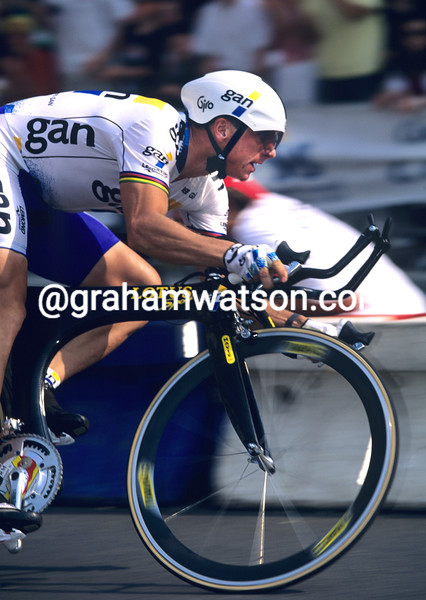 Greg Lemond in the 1994 Tour de France
