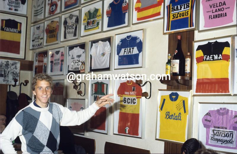 Greg Lemond in 1984