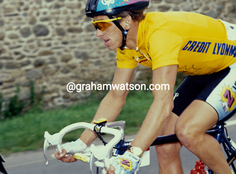 Greg Lemond in the 1991 Tour de France