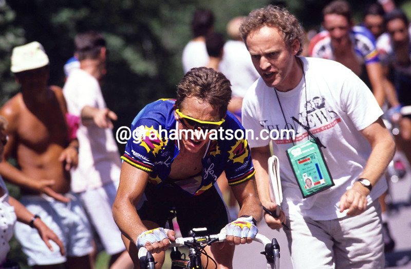 Greg LeMond in the 1992 Tour de France