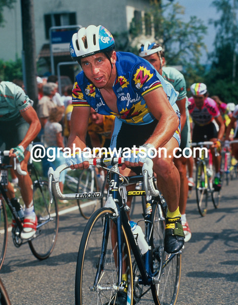 Greg LeMond in the 1991 Zuri-Metzgete
