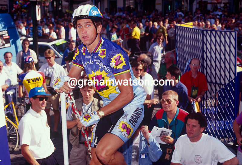 Greg LeMond in the 1991 Paris-Nice