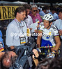 Greg Lemond and Tim Grady in the 1993 Giro d'Italia