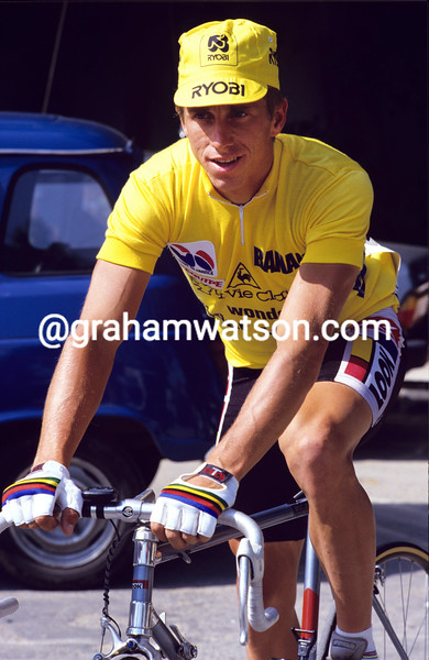 Greg Lemond in the 1986 Tour de France