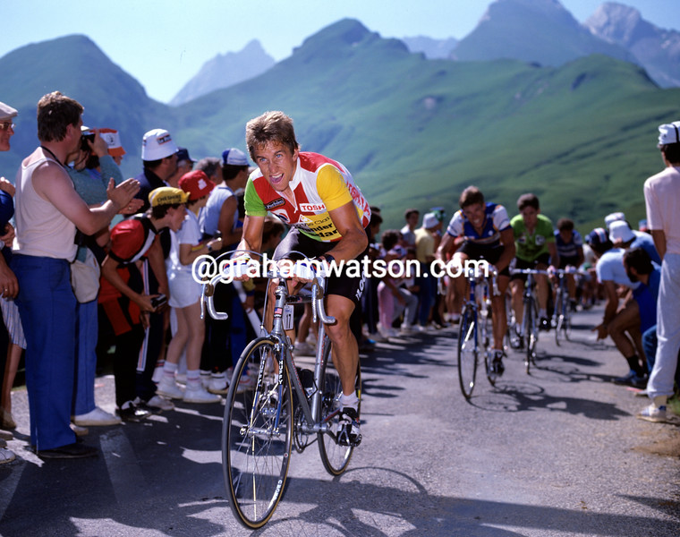 Greg Lemond in the 1985 Tour de France