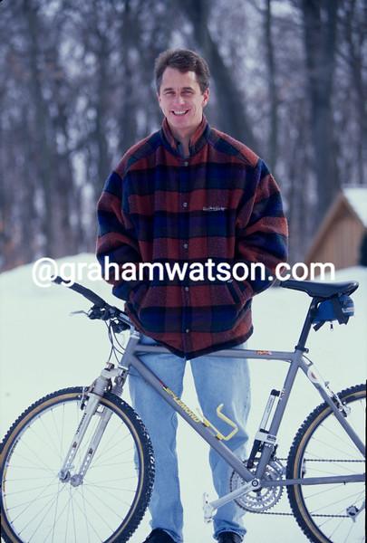 Greg Lemond in the winter of 1993