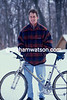 Greg Lemond in the winter of 1993