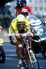 Greg Lemond is on his way to winning the 1989 Tour de France
