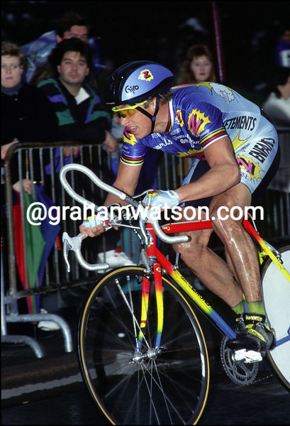 GREG LEMOND IN THE 1992 PARIS-NICE