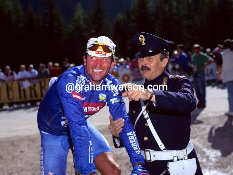 Guido Bontempi in the 1991 Giro d'Italia