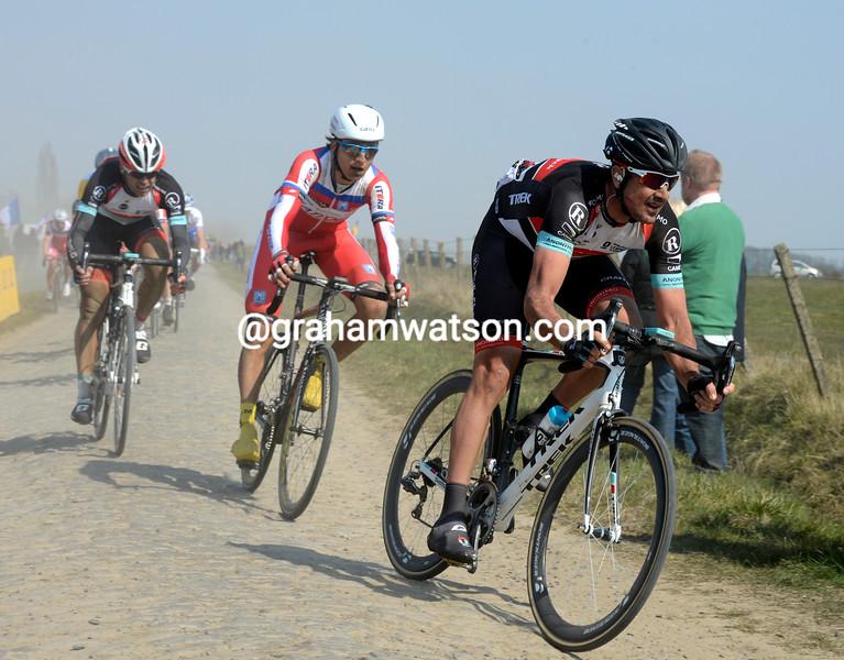 Hayden Roulston in Paris-Roubaix