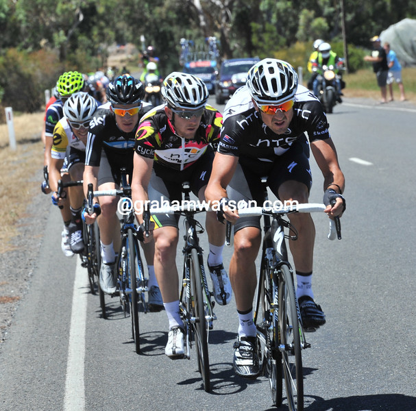 HAYDEN ROULSTON LEADS AN ESCAPE ON STAGE FIVE OF THE 2011 TOUR DOWN UNDER